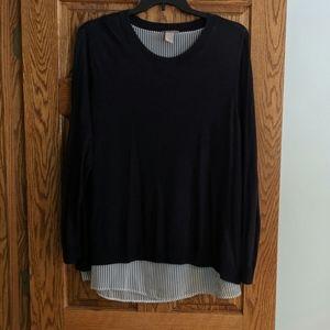 H&M tulip sweater